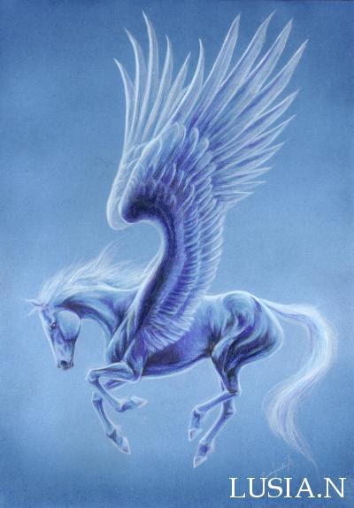 ペガサスユニコーンイラスト 七海ルシアイラストギャラリー Horse And