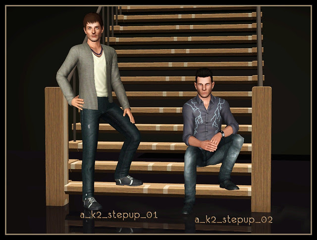 Step Up - Poses 01+02