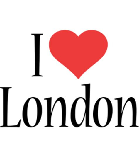 london logo  logo generator  love love heart