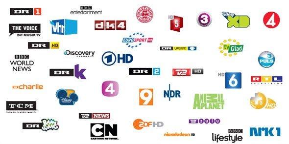 SE C More CNN Kanal TNT Viasat DK TV Eurosport