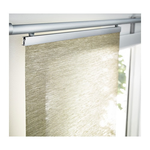 ANNO SANELA Panel curtain IKEA Can also be used as a room divider, to hide open storage or instead of a door.