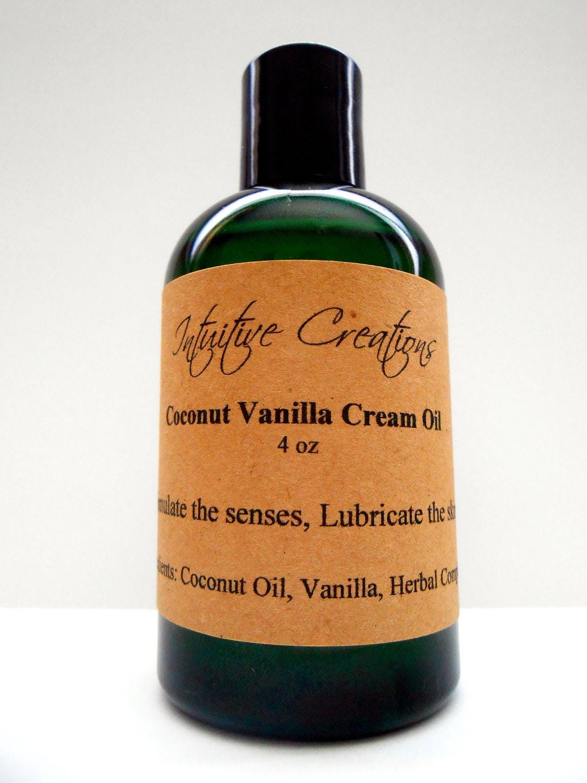 Coconut Vanilla Cream Body Oil