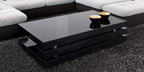 wohnzimmertisch schwarz hochglanz amilton. Black Bedroom Furniture Sets. Home Design Ideas
