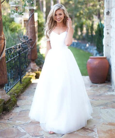 White Wedding Dresses,Simple Wedding Dress,Cheap Wedding