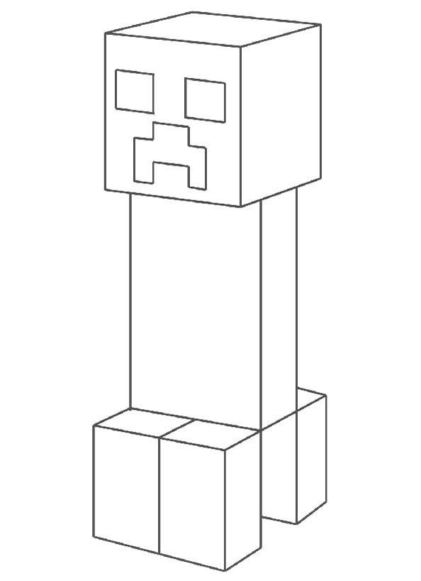 Asumalbilder Pinterest Ausmalbilder Minecraft