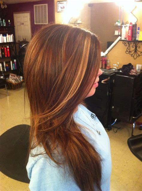 auburn hair  highlights  lowlights highlights