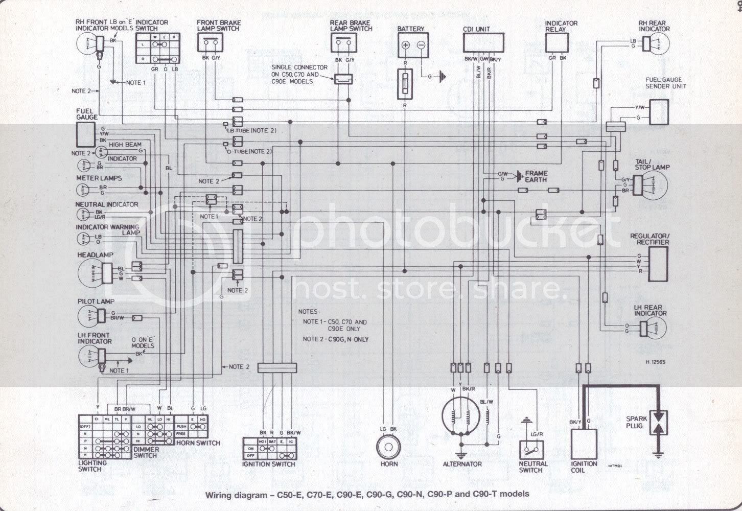 1970s Honda Cub Wiring Diagram Wiring Diagram Optimize A Optimize A Concorsomusicalmuseo It