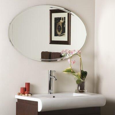 Polished Beveled Wall Mirror | Wayfair