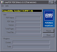 VeryPDF PDF2Word