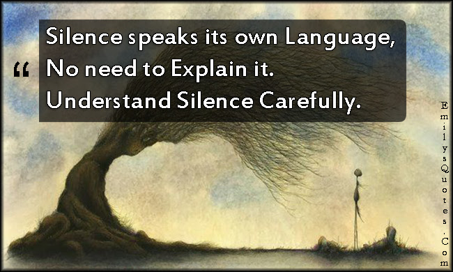 Quotes About Silent Communication 25 Quotes