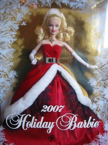 The Barbie Blog Day 20 Sassy Santa 2007 Holiday Barbie