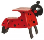 Childrens Ladybug Desk Woodworking Plan - fee plans from WoodworkersWorkshop® Online Store - childrens furniture,ladybugs,kids,childs,desks,full sized patterns,woodworking plans,woodworkers projects,blueprints,drawings,blueprints,how-to-build,MeiselWoodHobby