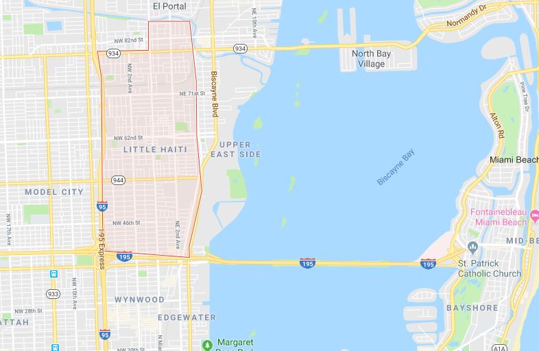 miami bad neighborhoods map