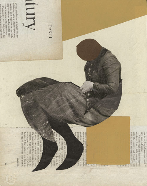 james gallagher artist collage paper