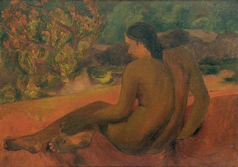 File:Gauguin Femme Tahitienne II.jpg