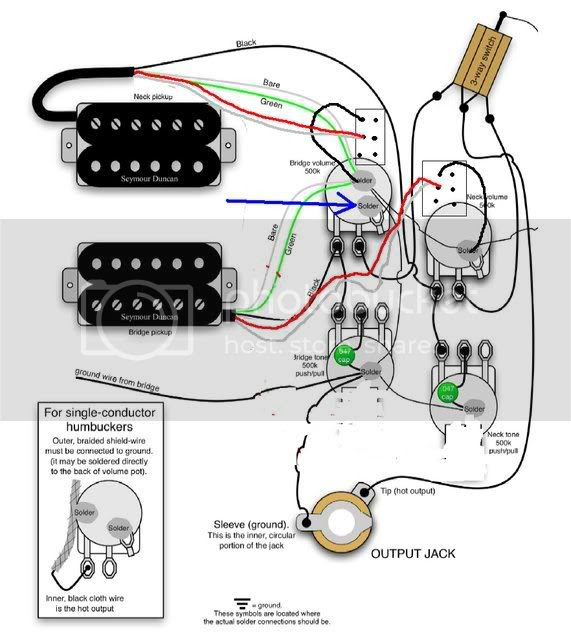 Epiphone 3 Humbucker Wiring Diagram