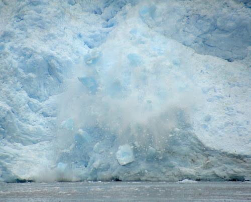 Meares Glacier Calving by RV Bob