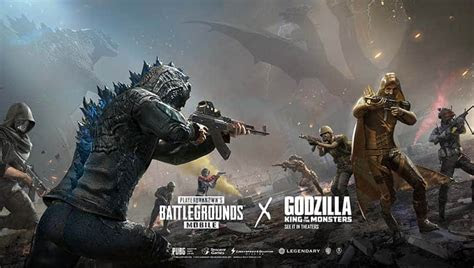 pubg mobile update godzilla theme june  bgr india