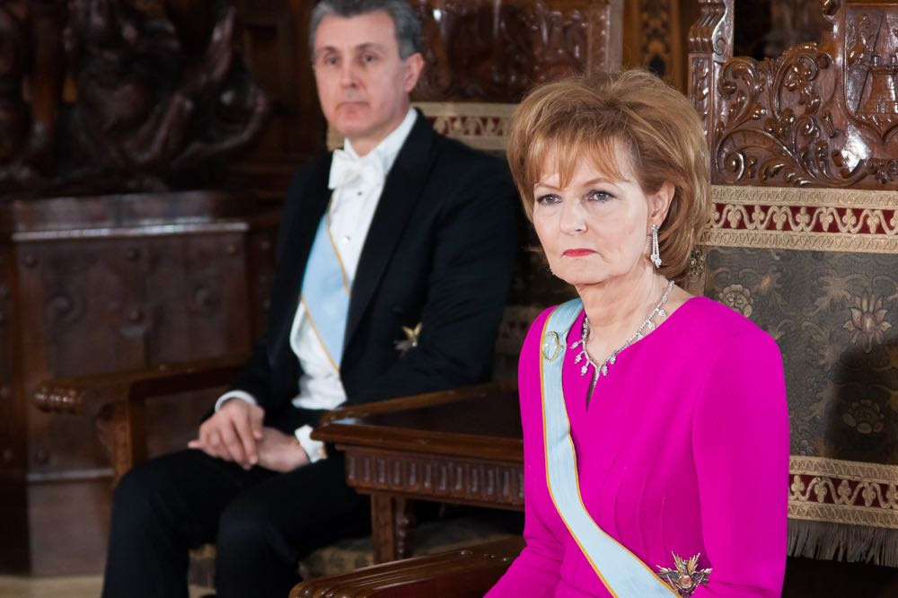 Decorări regale și dineu, de ziua Principesei Moștenitoare