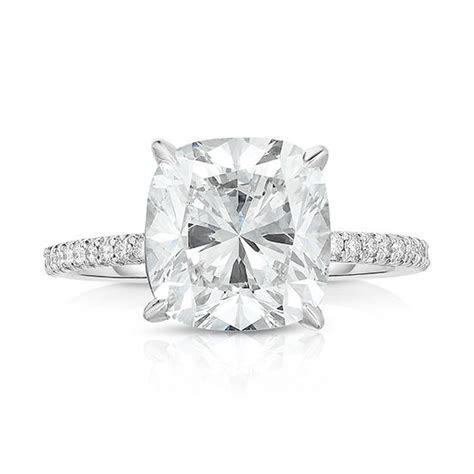 Micro Pave Engagement Rings, Micro Pave Ring NYC