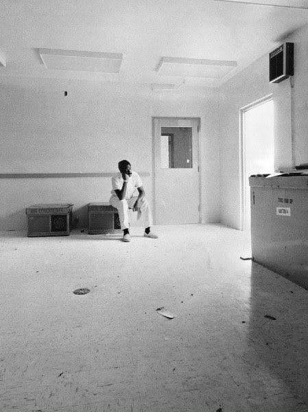 Description of  AUG 2 1968 - Herbert Griffin Waits For Delivery of Equipment in Vacant Laboratory. The entomologist has filed new charges of discrimination against agriculture agency. (Bill Johnson/The Denver Post)