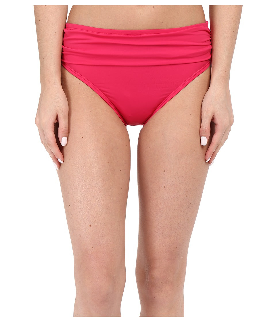 Tommy Bahama - Pearl High Waist Sash Pants (Azalea Pink) Women's Swimwear