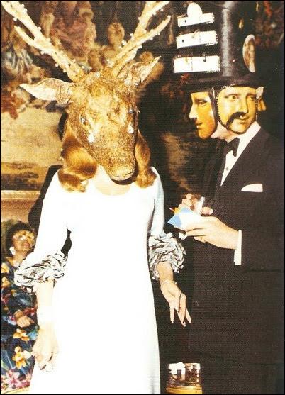 Baronesa Marie-Hélène de Rothschild y el barón Alexis de Rede