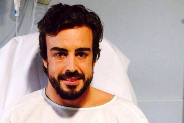 Alonso ironiza matéria sobre perda de consciência e propõe brincadeira no Twitter Divulgação/Fernando Alonso Oficial