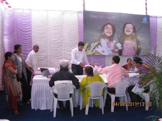 Huge response to the launch of DSK Kunjaban - 1 BHK 2 BHK Flats - Punawale - off Mumbai Bangalore Bypass - Pune 411 045