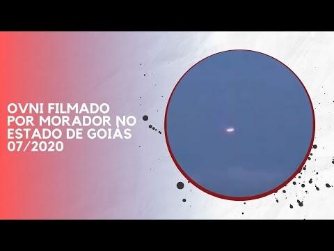 OVNI FILMADO POR MORADOR NO ESTADO DE GOIÁS