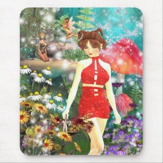 Flower Hunt Mousemats