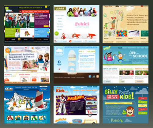 Amazing Websites Designed for Kids for your Inspiration