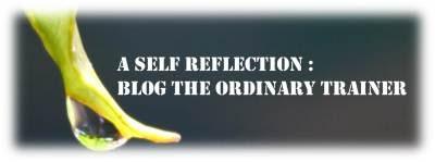 A self Reflection : Ganti sisi buruk dengan sisi baik