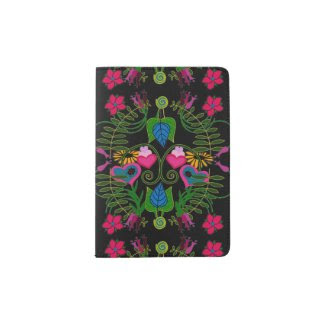 Botanical Arts Passport Holder