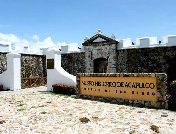 Resultado de imagen para El fuerte de San Diego de Acapulco