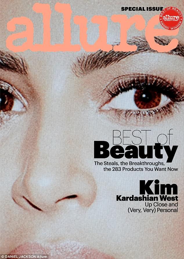 """""""Eu sou, como, o mais adequado que já estive"""", a estrela disse à revista Allure no próximo problema"""