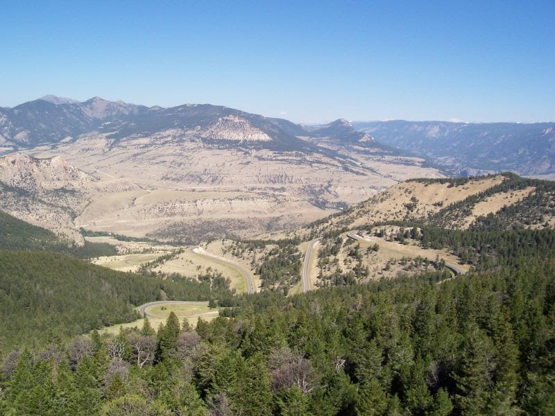 2006 Wyoming/Montana/Idaho Ride: July 17 - Cody to