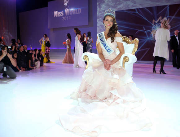 22 year old South African beauty Rolene Strauss was crowned Miss World 2014 in London. A medical student Strauss succeeded the Philippines' Megan Young for the title. A look at the moments from the event.
