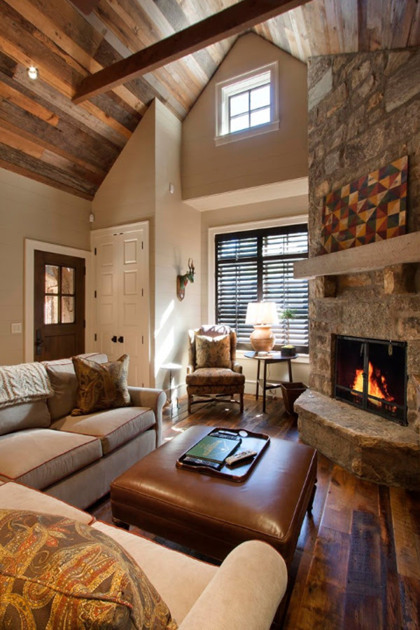 35 Gorgeous Rustic Living Room Design Ideas - Decoration Love