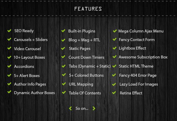 COPmo Features