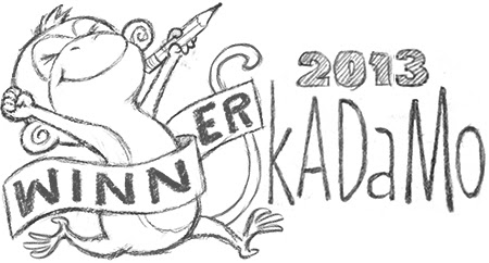 SkADaMo button 2013 monkey winner 450