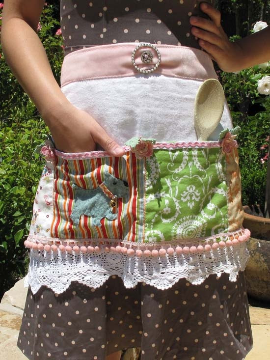 Dena Designs | DIY: Tea Towel Apron - I am planning on making some of these for gifts!!!!!