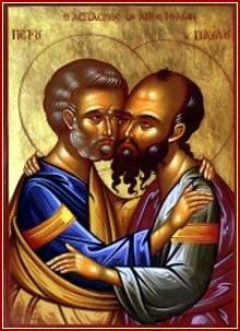SANTOS PEDRO Y PABLO, Apóstoles y Mártires