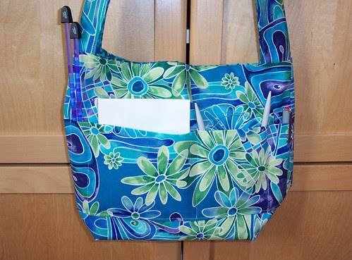Dawn's knitting bag: inside out