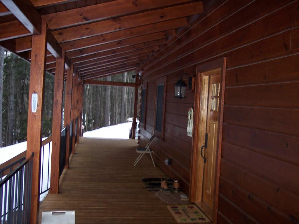 The Bear Hollow - 2 Story Custom Log Home Plan