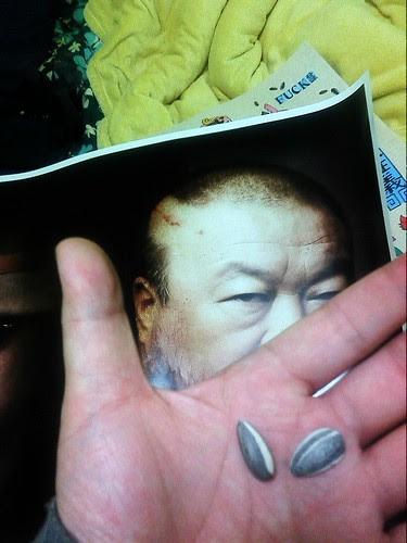 @aiww Ai Weiwei by Woody xu