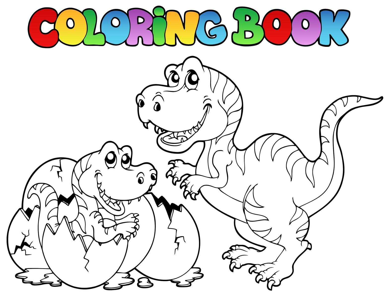 Inspiration Coloriage De Dinosaure Gratuit