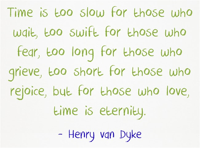 Henry Van Dyke Quote About Time Awesome Quotes About Life
