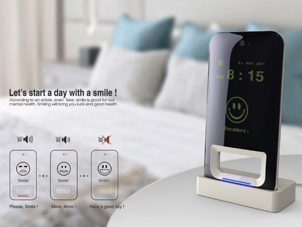 Smile Alarm Clock by Kim Jungwoo, Ju Yongjun, Lee Jongmoo & Kim Taehwan