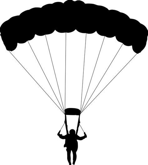 kostenlose vektorgrafik fallschirmspringen fallschirm